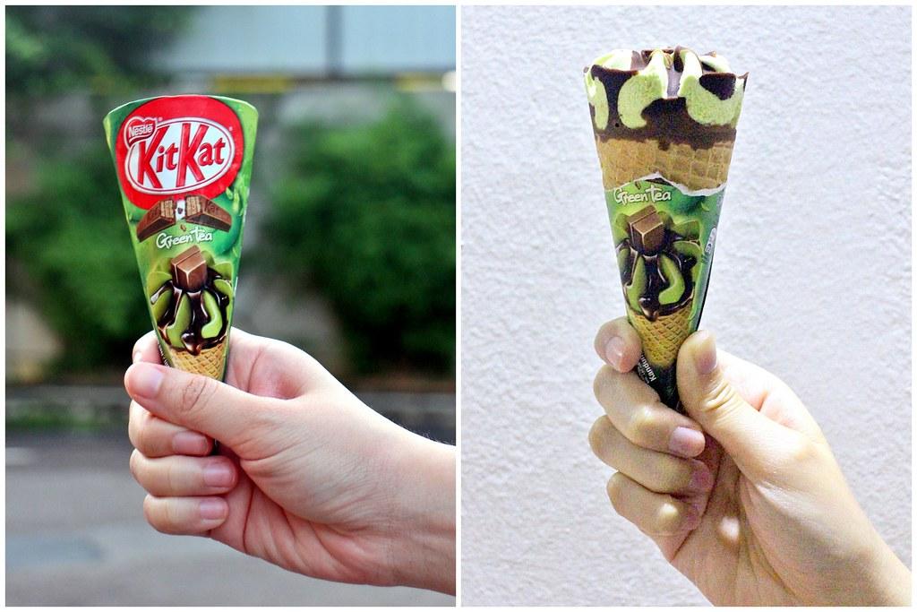 Matcha Johor Bahru: Nestle Kit Kat Green Tea Ice Cream