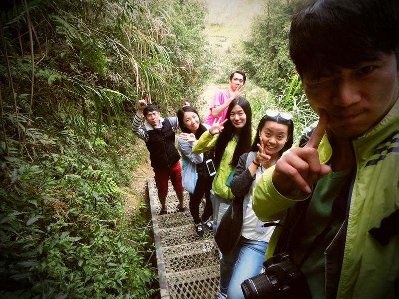 Taiwan Island trips。Couchsurfing。環島景點。南投秘境。忘憂森林。17度C隨拍。  (23)