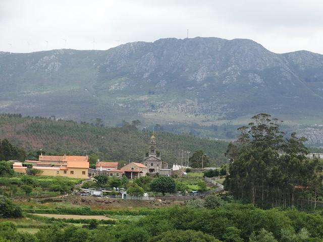 Iglesia de San Pedro de Muro en Porto do Son