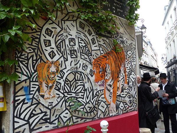 frise tigres