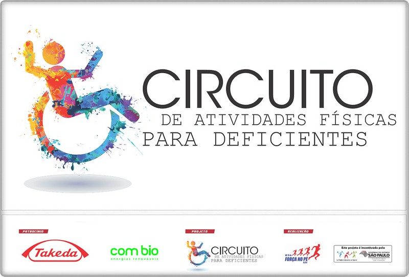 Circuito de Atividades Físicas para Deficiêntes - 1ª etapa CREEBA 05 junho 2016