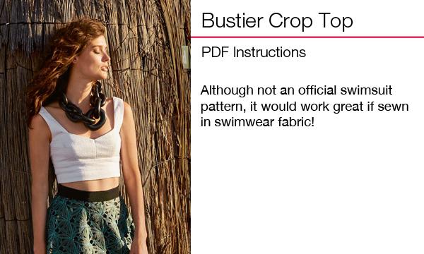 Bustier Crop Top