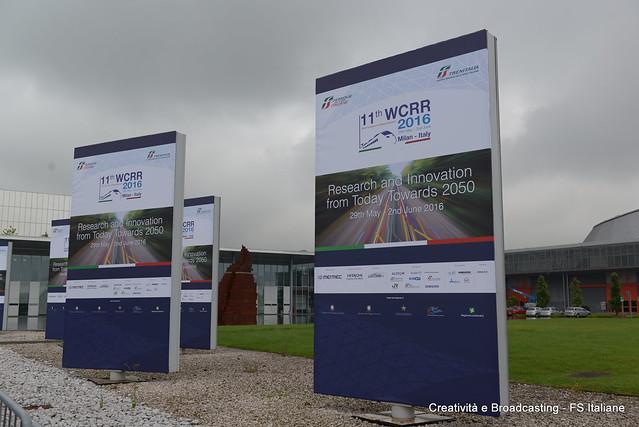 WCRR 2016- Centro Congressi Stella Polare (Fiera Milano)