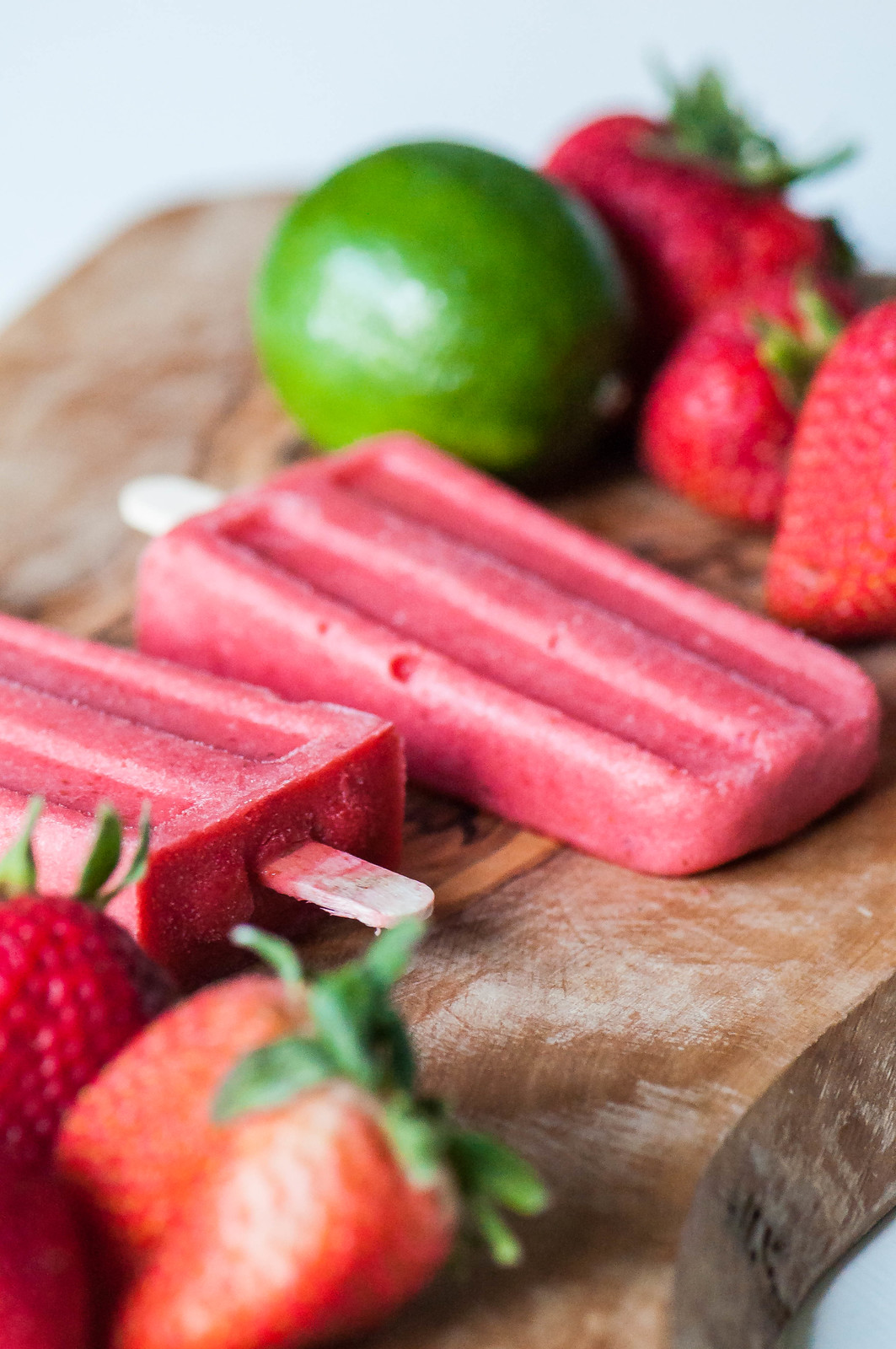 Strawberry Coconut Margarita Pops 14