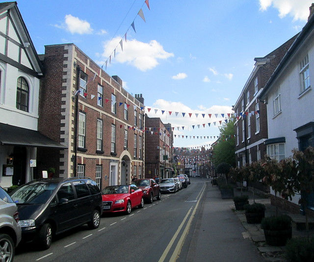 Knutsford, King Street again
