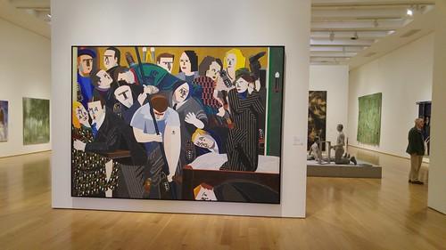 El camarote de los hermanos marxistas o Retrato del artista adolescente, en el Museo de Bellas Artes de Bilbao
