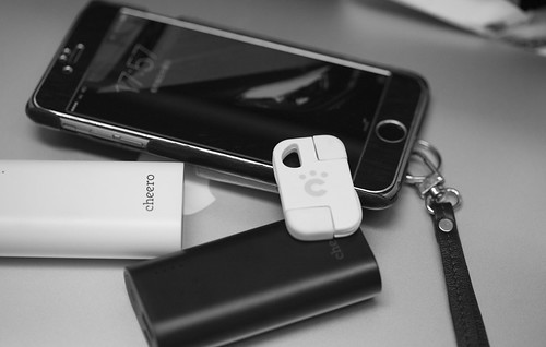 iPhoneの予備バッテリーにcheero Power Plus 3 mini 5200mAh