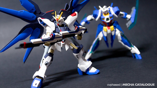 HG Strike Freedom Gundam - Completed Build