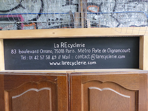 la RE cyclerie