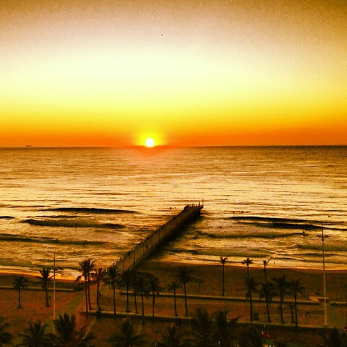#MeetSouthAfrica - Another epic Durban sunrise | by South African Tourism