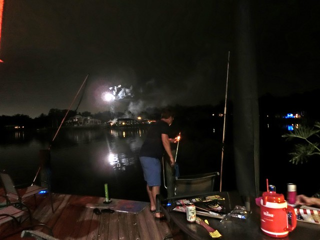 Alafia River Fireworks