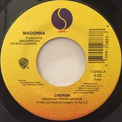 MADONNA:CHERISH(LABEL SIDE-B)