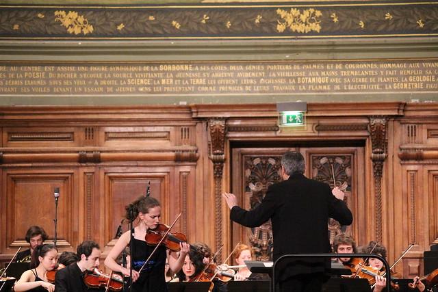 Le Chœur & Orchestre Sorbonne Universités interprète Saint-Saëns et Dutilleux en Sorbonne