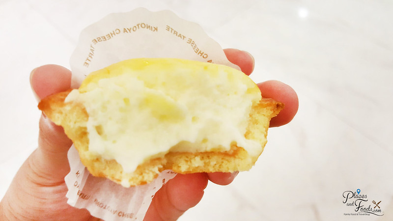 bake hokkaido cheese tart filling