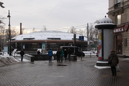 Station vestibule at Gorkovskaya (Го́рьковская) station on line 2