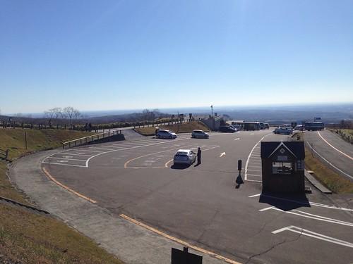 hokkaido-teshikaga-lake-mashu-parking