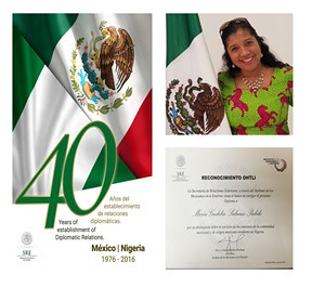 Entrega de Reconocimiento Ohtli a la Sra. María Gudelia Salinas Pulido