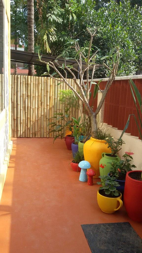 garden sunny balcony