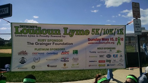 Loudon Lyme 5K/10K/1K Fun Run, May 15, 2016