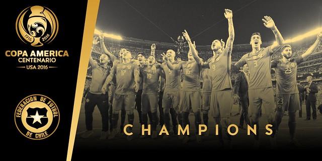 Chile campeón de la Copa América Centenario USA