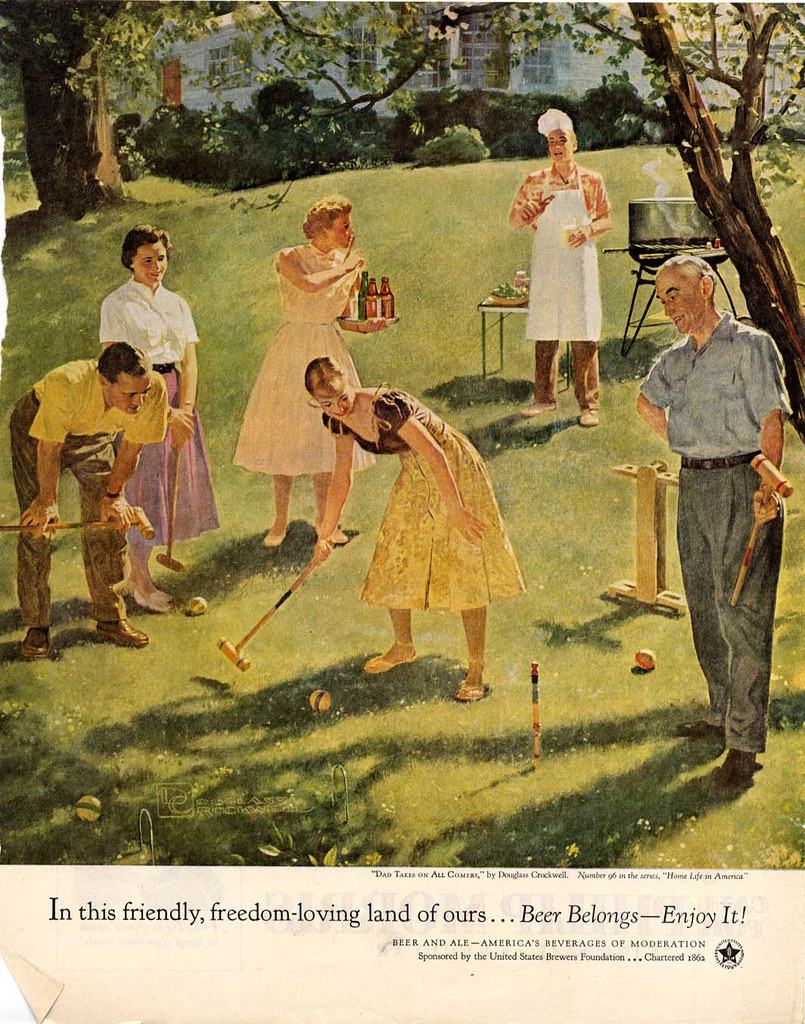096. Dad Takes On All Comers by Douglass Crockwell, 1954-2