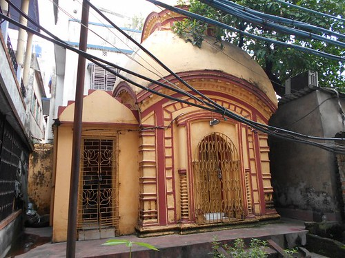 Shiva Temple- in Yogin Ma's House at Bagbazar Street, Kolkata, West Bengal, India