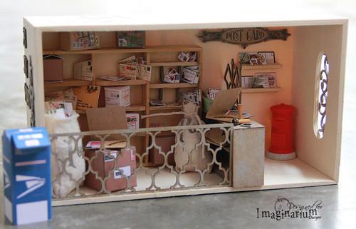"""Miniature Post Office"""