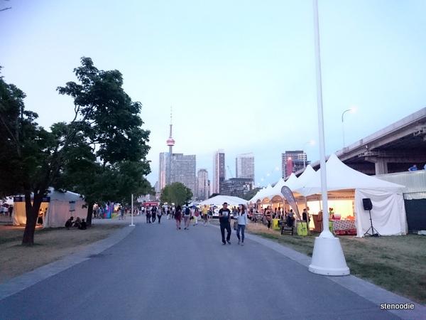 Taste of Toronto 2016 scene