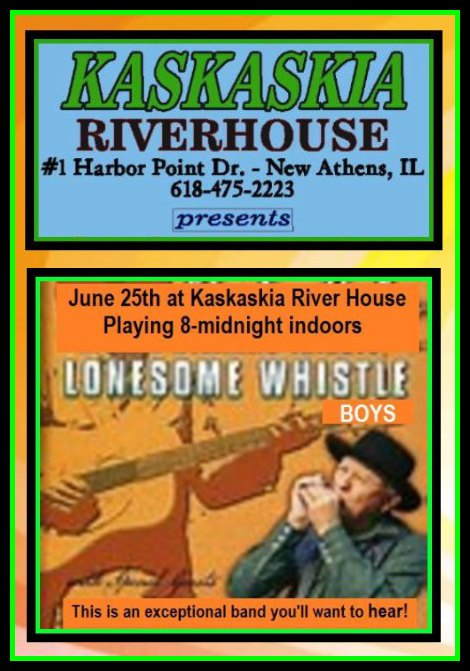 Lonesome Whistle Boys 6-25-16