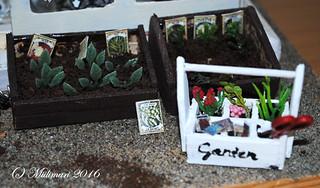 Puutarhapakki - Garden tool carrier