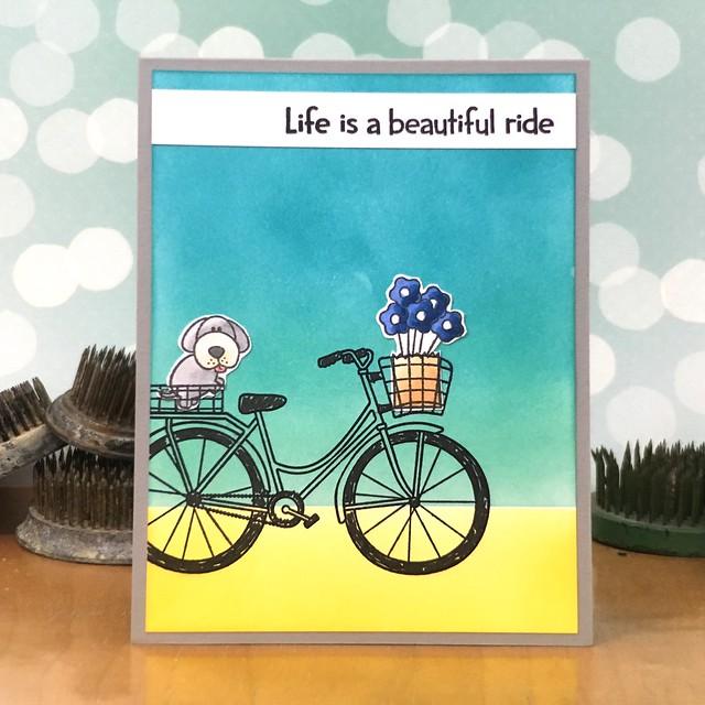Life is a Beautiful Ride by Jennifer Ingle #JustJingle #SimonSaysStamp