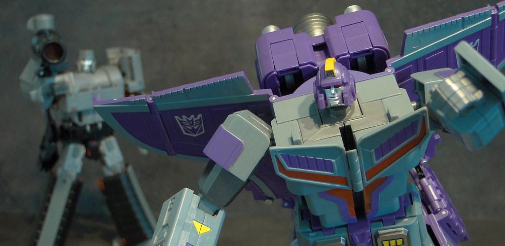 [Machine Boy/Fancy Cell Toys] Produit Tiers - FC-X01 Transportation Captain - aka Astrotrain 27846356950_7078b61a64_b