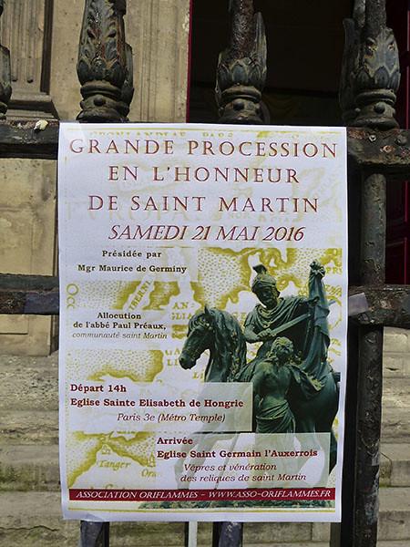 grande procession de la saint martin