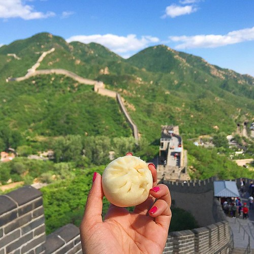 Melissa of Girl Eat World - Great Wall of China
