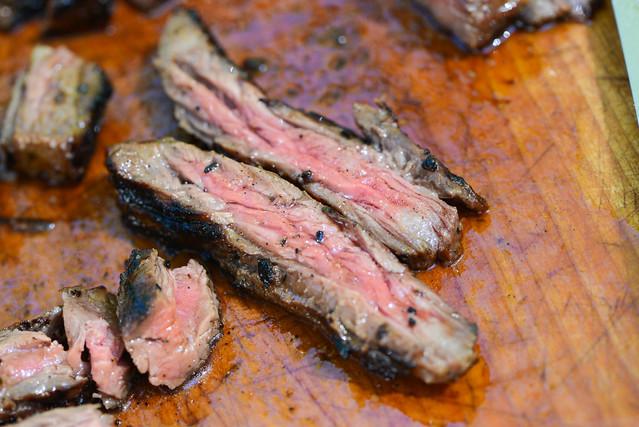 Tostones with Skirt Steak