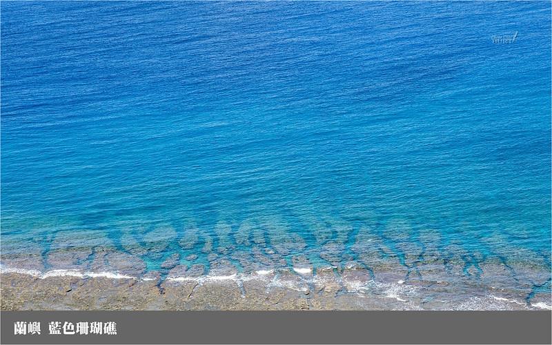 蘭嶼_藍色珊瑚礁