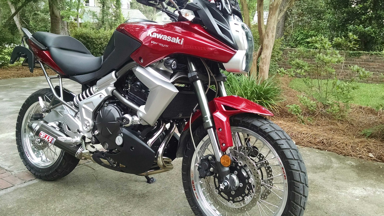 Wire Wheels, Akrapovic exhaust & Go Pro - Kawasaki Versys Forum