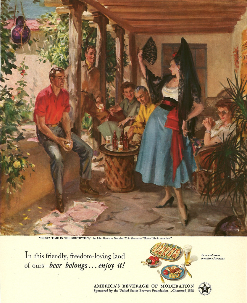 073. Fiesta Time in the Southwest by John Gannam, 1952