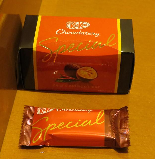 Kat Chocolatory Special Chili & Passion Fruit (キットカット ショコラトリースペシャル チリ&パッションフルーツ)