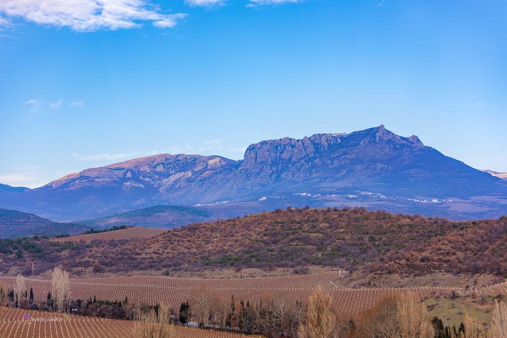 View on mountain Demerdji in December