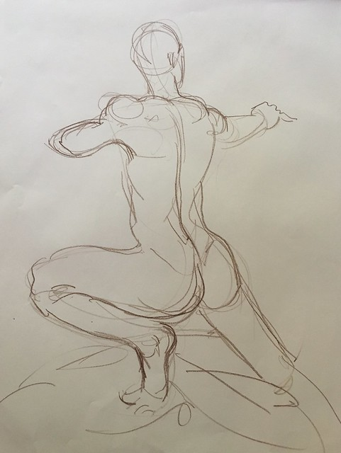 Figure drawing, April 2016