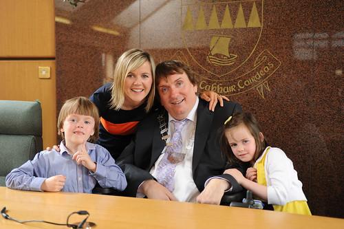 Mayor of Kerry Cllr Terry O Brien