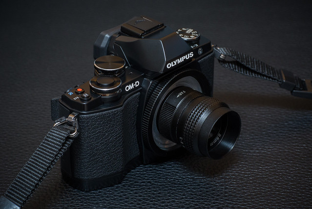 Depicted: 25mm f/1.4 CCTV C-mount lens & Olympus OM-D E-M10