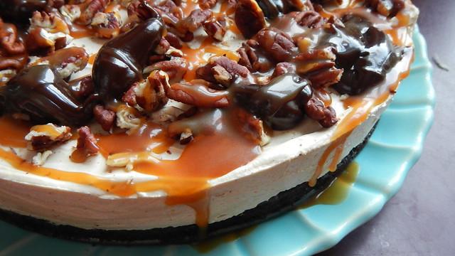Half-Baked Turtle Cheesecake 25