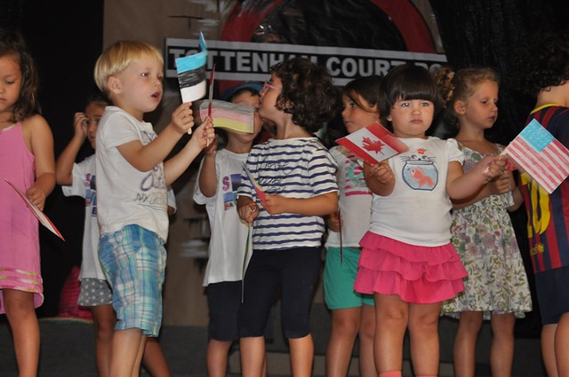 Lady Elizabeth School - Summer School - Nursery on Stage