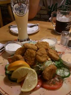Quetchn Bananenweizen & Chicken Crossies