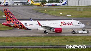 Batik A320-214 msn 7160
