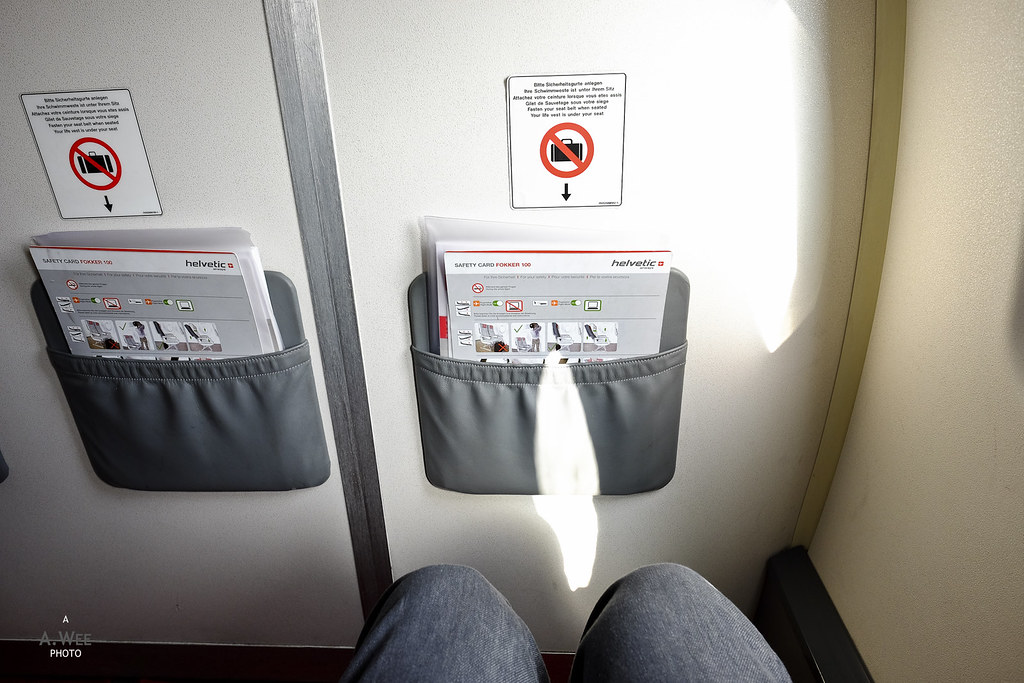 Legroom for the flight