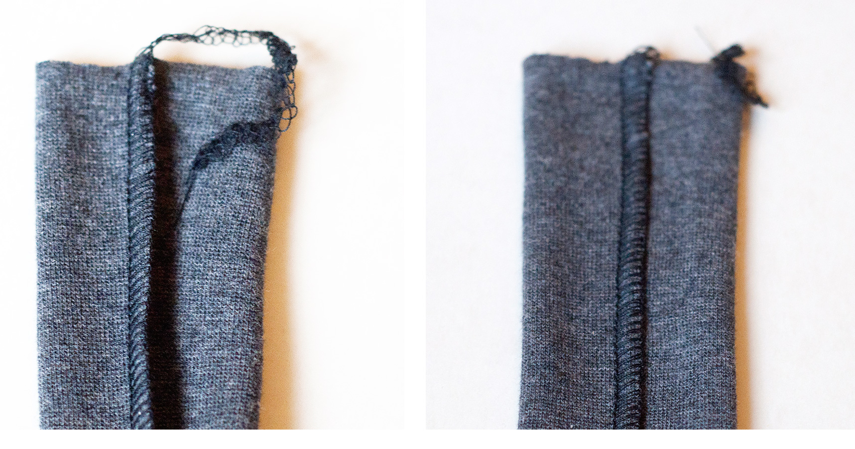 How to perfect the 3-thread flatlock seam