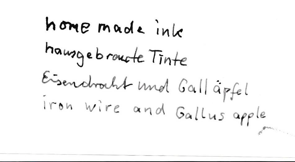 Tinte - Ink